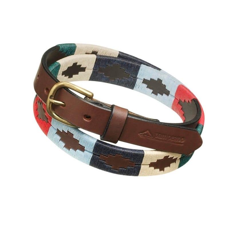 09604a1404 Pampeano Thin Polo Belt, Multi - Wadswick Country Store Ltd