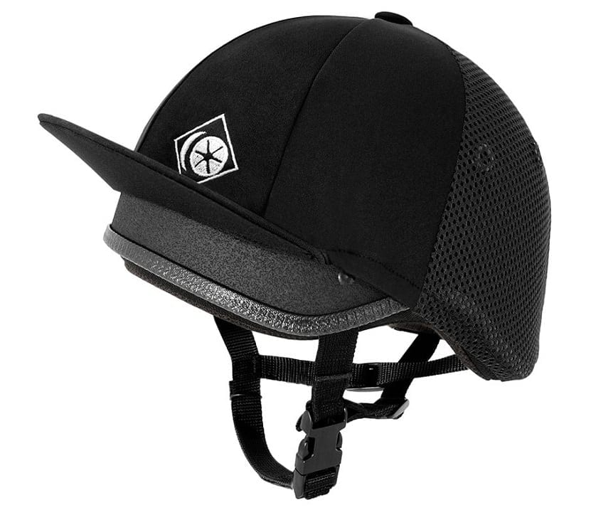 Charles Owen Young Rider Vented Skull, Round Fit