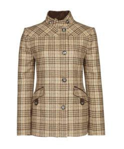 Dubarry Heatherbell Tweed Utility Jacket, Pebble