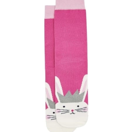 Joules Junior Girls Neat Feet Bamboo Character Socks