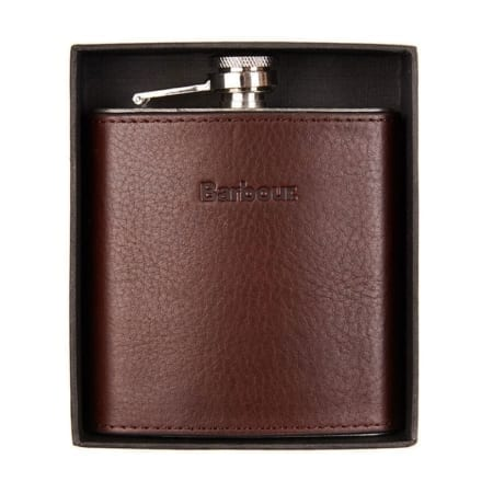 Barbour Hipflask in Gift Box