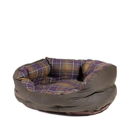 Barbour Waxed-Cotton Classic Dog Bed