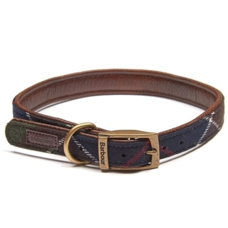 Barbour Wool Touch Tartan Classic Dog Collar