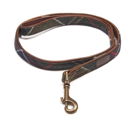 Barbour Wool Touch Tartan Classic Dog Lead