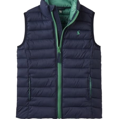 Joules New Junior Crofton Pack Away Gilet
