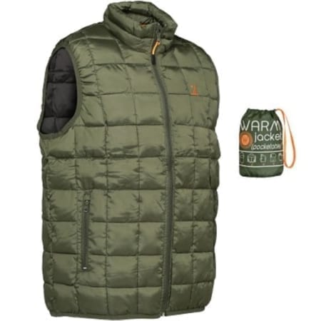 Percussion Warm Packaway Vest