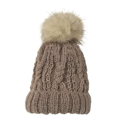 Pikeur Cable Knit Booble Hat