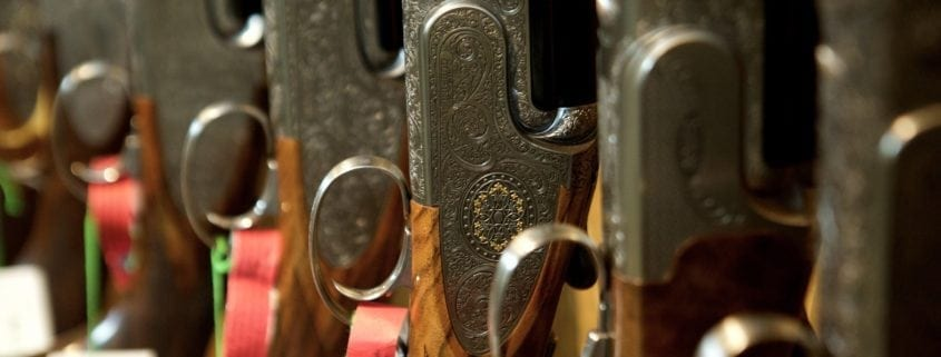 Gun Room at Wadswick Country Store - Top tips for buying your first gun