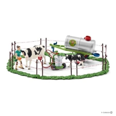 Schleich Farm World Cow Family On Pastures