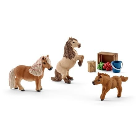 Schleich Horse Club Mini Shetland Pony Family