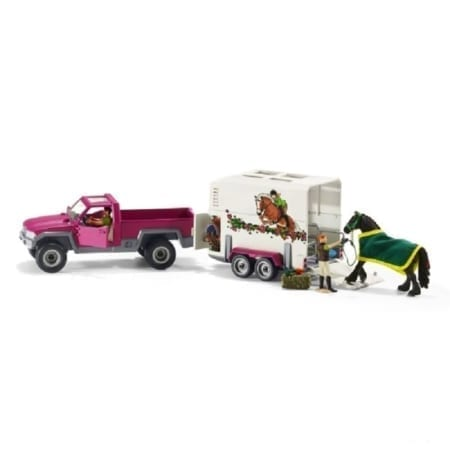 Schleich Horse Club Pick Up With HorseBox