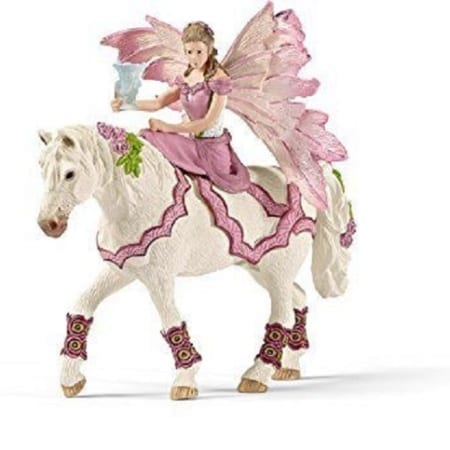 Schleich Bayala Feya Riding In Festive Clothes