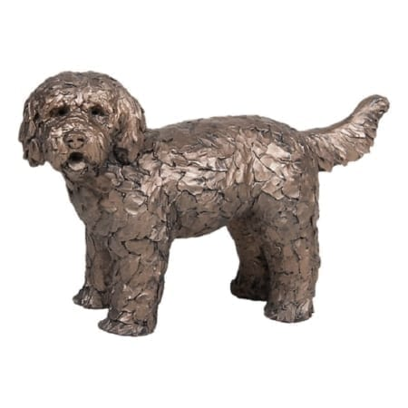 Frith Bronze Button Standing Labradoodle
