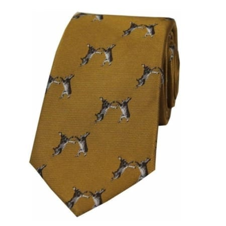 Soprano Boxing Hares Woven Silk Tie Collection
