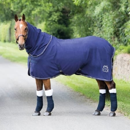 Bridleway Navy Detachable Combo Rug