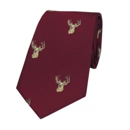 Soprano Stags Woven Silk Tie Collection