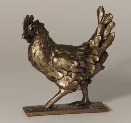 Frith Bronze Clara Walking Hen