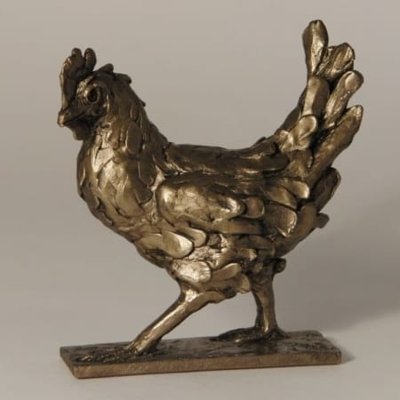 Frith Bronze Clara Walking Hen