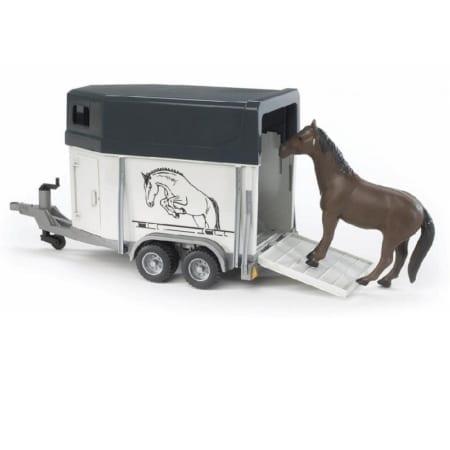 Bruder Horse Trailer Plus 1 Horse