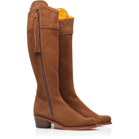 Fairfax & Favor Unlined Regina Heeled Boot