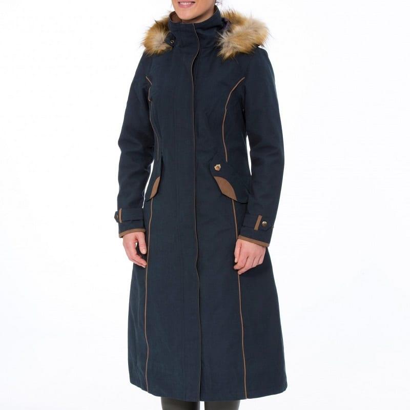 760bb92fa Alan Paine Ladies Berwick Waterproof Long Coat - Wadswick Country ...
