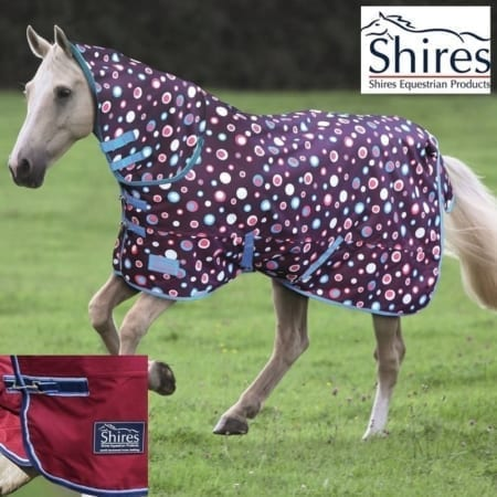 Shires Tempest 180 Combo Turnout Rug