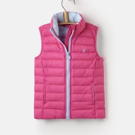 Joules New Junior Croft Pack Away Gilet
