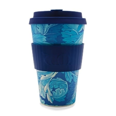 Reusuable Acanthus William Morris design Ecoffee Cup, 14oz
