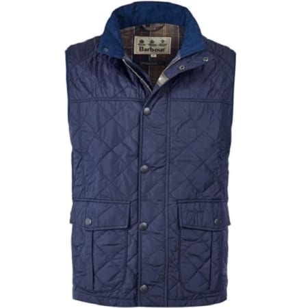 Barbour Explorer Quilted Gilet, Navy