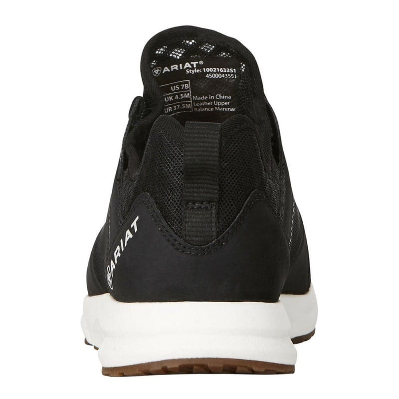 Black Lifestyle Waterproof Trainer Shoe