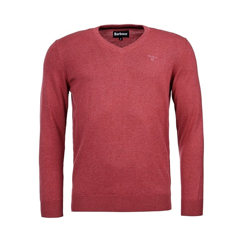 93f6f3e3ee8 Barbour Pima Cotton V-Neck Sweater, Candy