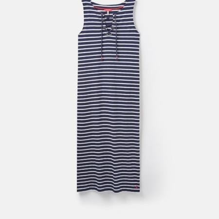 Joules Anita Tie Neck Jersey Dress