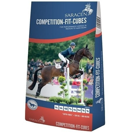Saracen Horse Feed - Saracen Competition Fit Cubes - Wadswick Country Store Horse Feed