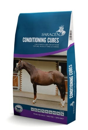Saracen Horse Feed - Saracen Conditioning Cubes - Wadswick Country Store