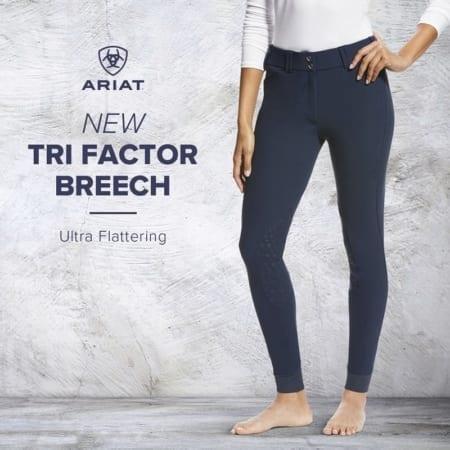 Ariat Tri Factor Full Seat Grip Breeches