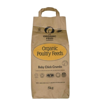 The Organic Feed Company Baby Chickens Crumbs