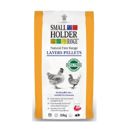 Small Holder Range Feed- Natural Free Range Layer Pellets