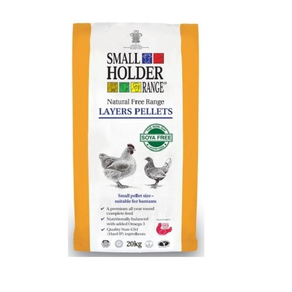 Small Holder Range Feed- Natural Free Range Layer Pellets