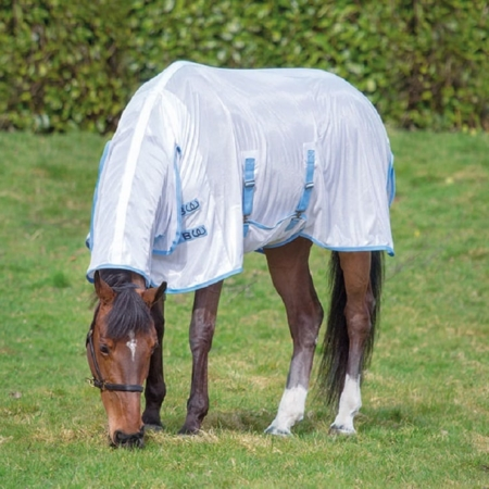 Bridleway Fly Sheet, White/Navy