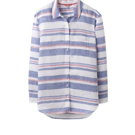 Joules Jeanne Print Linen Shirt