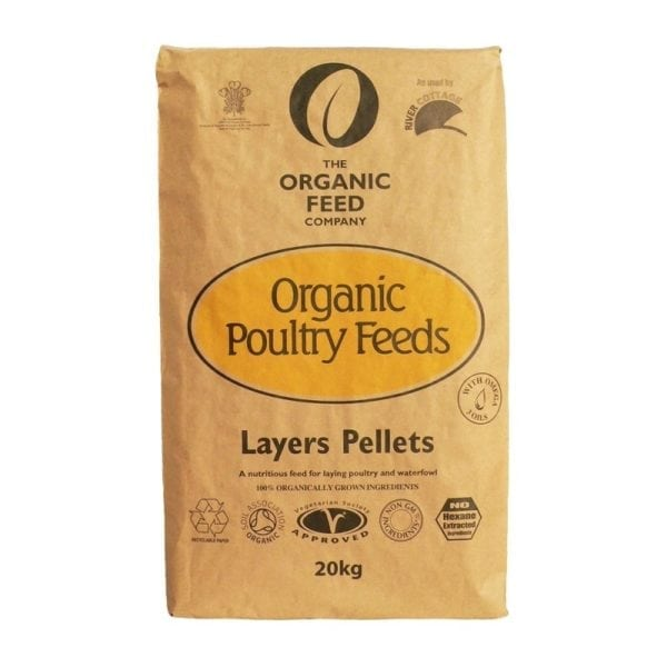 The Organic Feed Company Layers Pellets