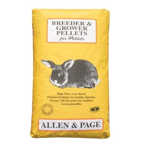 Allen & Page Rabbit Breeder Grower Pellets