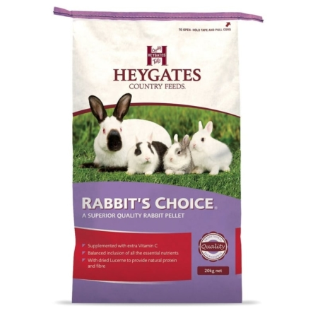 Heygates Rabbit Choice Pellets