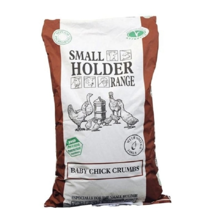 Smallholder Range Feed Baby Chick Crumbs