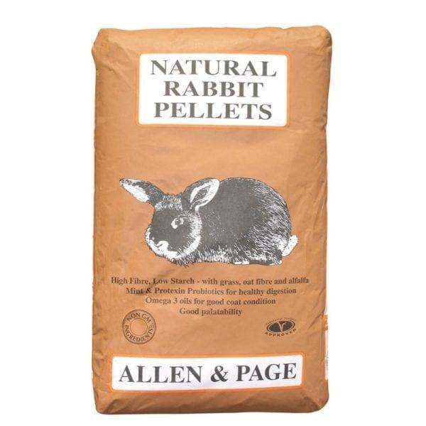 Allen Page-Natural Rabbit Pellets