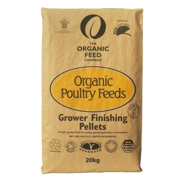 The Organic Feed Company Grower-Finishing Pellets