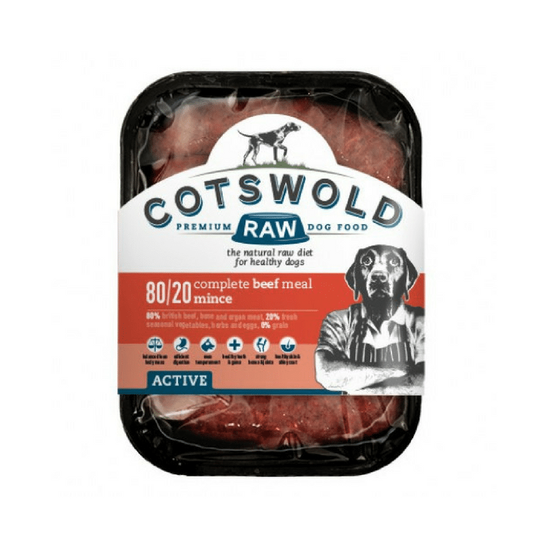 Cotswold Raw 80/20 Active Dog Mince Beef