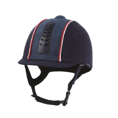 Dublin Silver Pro Piped Riding Hat