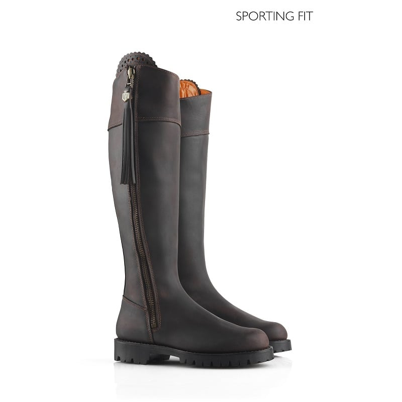 277ea375c88 Fairfax & Favor Sporting Fit Imperial Explorer Boots, Mahogany Leather