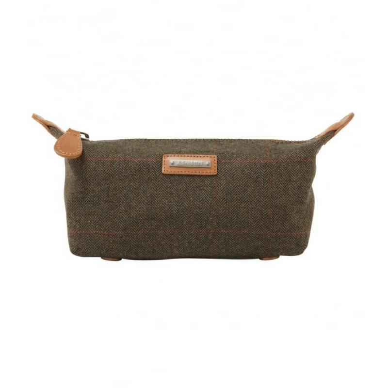 317fe4b3f06af Schoffel Tweed Wash Bag - Wadswick Country Store Ltd